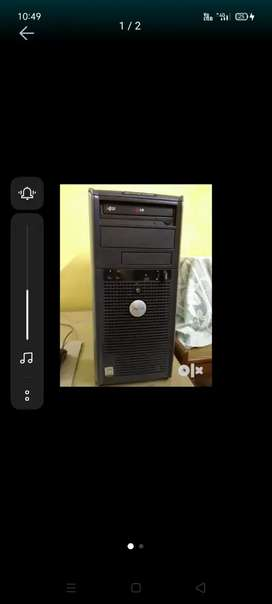 Dell 2800/, only CPU 2 GB ram, 250 GB hard disk.
