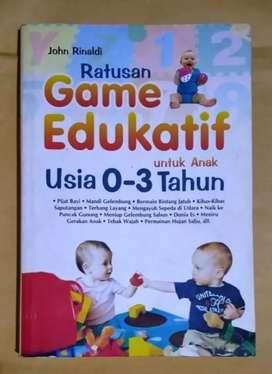 Ratusan Game Edukatif Anak 0-3 Tahun