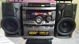 SONY MHC-V707 Audio Hi - Fi Japan Mulus Suara Normal Full Power Mantap