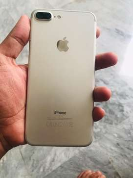 Iphone 7 plus 32gb just set silver clr pta approved