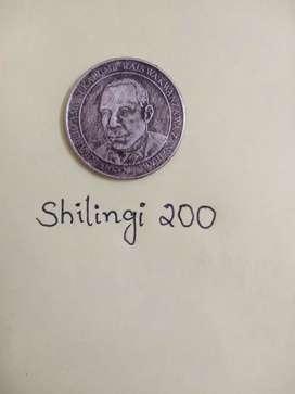 Shilingi 200
