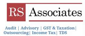 GST TDS INCOME TAX & Part time accounting services available