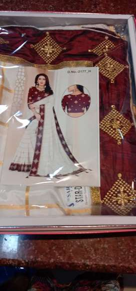 Fancy design sarees latest collections