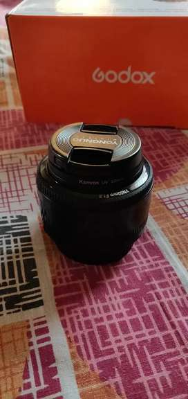 Yongnuo 50mm 1.8 canon mount for sell