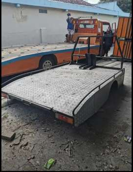 Bak towing pickup besi full kuat