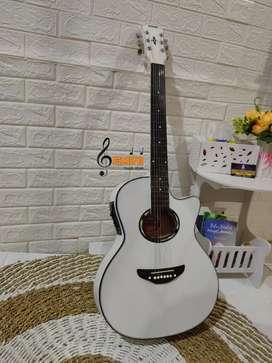 Gitar Yamaha ApX Akustik Elektrik Tanem Besi baru