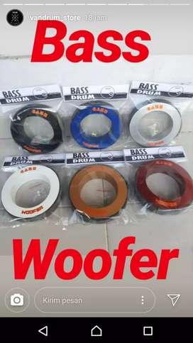 Bass woofer aksesoris pelindung lubang bass drum