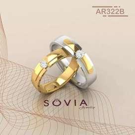 Kami menjual cincin untuk tunangan