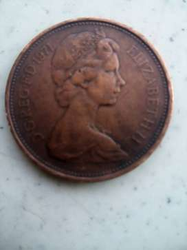1971 NEW PENCE Coin