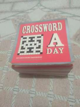 Crossword a day for a year.