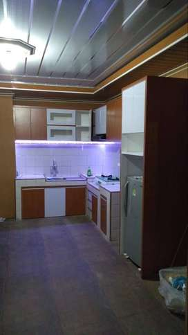 ktichenset minibar lemari almari partisi ruangan OKT