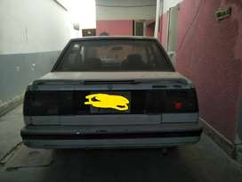 toyota carolla 1984 modified 1986 CNG only petrol setting required.
