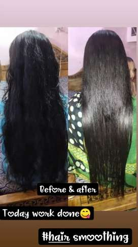Hair smoothening at low cost