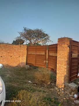 Walled farm house 100 marlas in just 72 lacs 8 km from urban estate 2