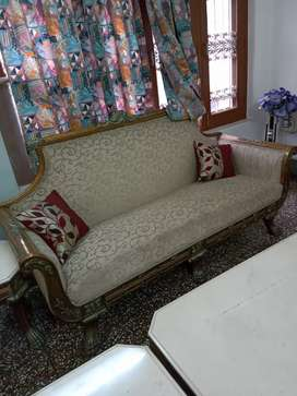 Shisam wood sofa