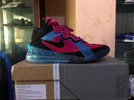 Sepatu Basket Nike Lebron 18 Low Fireberry