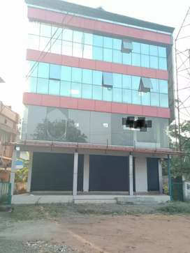 3000 sqft 4 storie  commercial space at aluva main road front