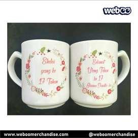 Mug Custom - Cetak Mug Terpercaya