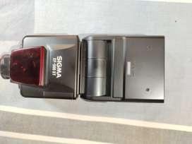 Sigma EF 50ST flash unit.