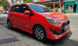 Toyota Agya 1.2 TRD Sportivo Matic 2018 Merah KM 19 rb TDP 27 Jt