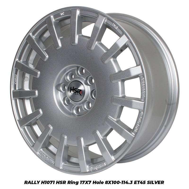 RALLY H1071 HSR R17X7 H8X100-114,3 ET45 SILVER 0