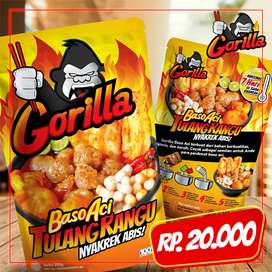 Gorilla- Baso urat sambal kacang_