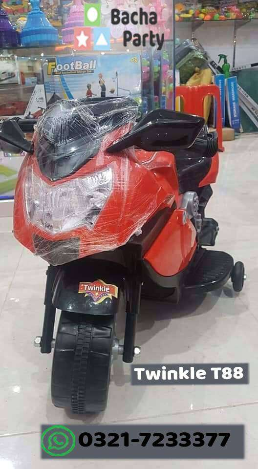 TB-100.3 Twinkle T88 ( Recharge able bike for kids)