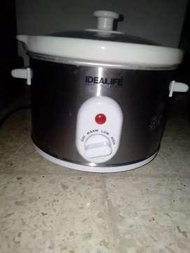 Slow cooker Idealife 160 watt volume 1.8 Liter