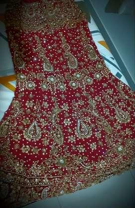 Pair of wedding Manyavar sherwani and lehenga for sale