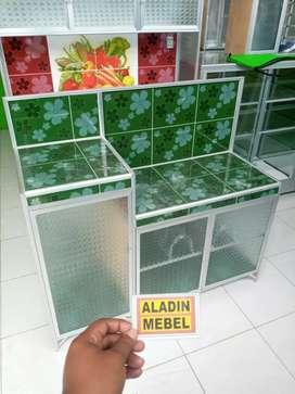 Meja kompor hijau ready Aladin sidoarjo Sukodono 2510