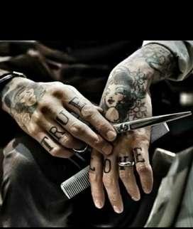 Men's beauty salon