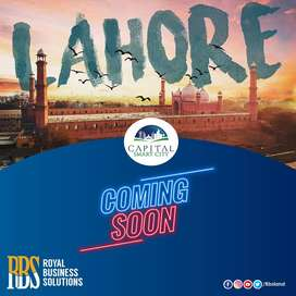 Book your plot at Lahore smart city on reasonable price in Pre launch