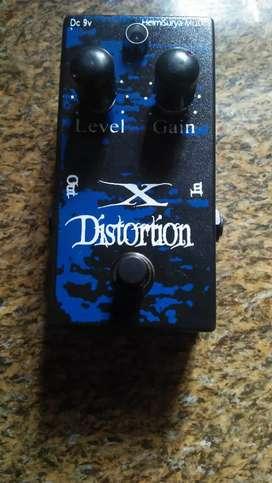 Efek gitar distorsion x...