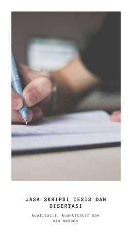 jasa merapikan naskah untuk skripsi, dan dokumen penting lainnya