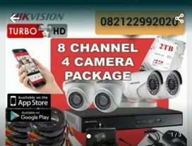 Komplit Camera CCTV online plus pasang