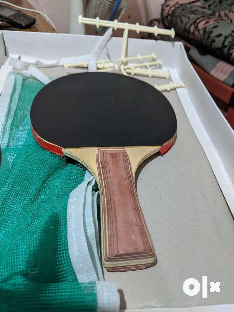 3Table tennis bat and TT net 0