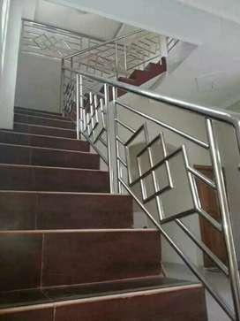 balkon dan railling tangga staenliss steell