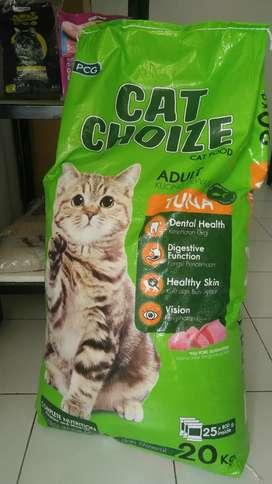 Makanan Kucing Cat Choize 20 kg