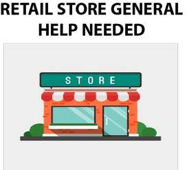 Retail store general help