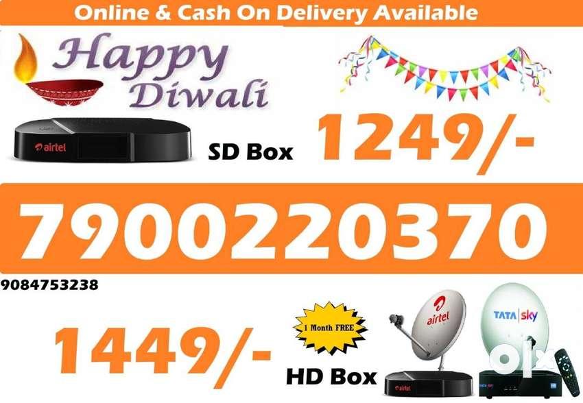 DTH Festival Sale All over india Airtel Tatasky 0