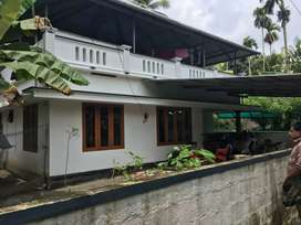 6.75 cent 1100 sqft 3 bhk house at aluva near kottappuram