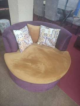 Round Sofa available on order