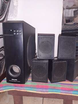 Philips multimedia speakers system