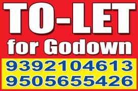 Godown  for rent in vijayawada centre