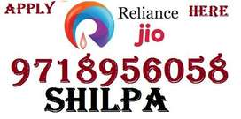 Reliance Jio Full time job apply in helper,store keeper,supervisor
