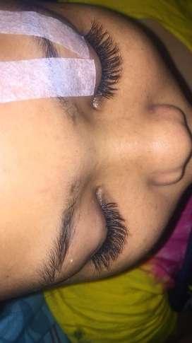 Yang mau eyelash bisa langsng WA bisa datang ke rumah2 juga