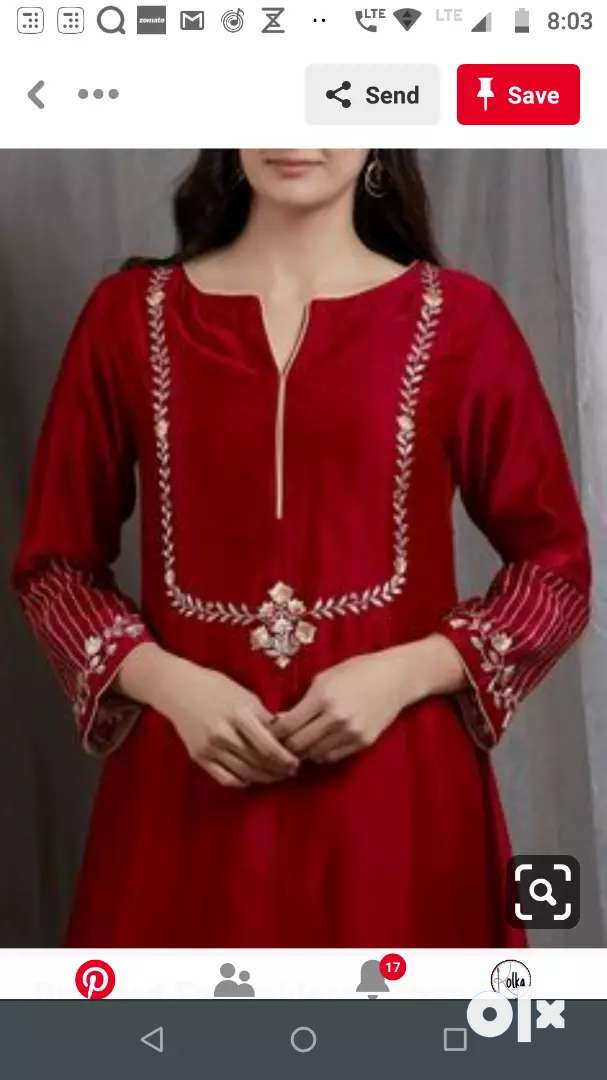 EMBROIDERY KARIGAR NEEDED ON CONTRACT BASIS 0