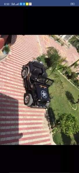 Jeep Willy  Toyata Engine