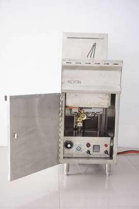 Deep Fryer Gas  Mesin Penggoreng Ayam Dengan Suhu Stabil