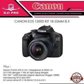 Dijual kamera dslr type 1500D pembelian bulan february..baru gress